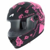 Casque Astone GT2 - GRAPHIC KIDS - LADY CUSTOM BLACK PINK