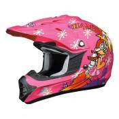 Casque cross enfant AFX FX-17YE Rock Girl- L