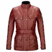 Belstaff Classic Tourist Trophy Leather M Antique Red