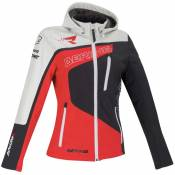 Bering Softshell Racing 6 Grey / Red / White