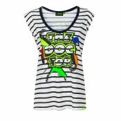 T-Shirt manches courtes VR 46 VR46 - STREET ART WOMAN 2020
