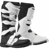 Bottes cross Thor BLITZ XP BLACK/WHITE FEMME 2021