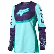 Maillot cross Fox YOUTH GIRLS 180 - REVN - AQUA